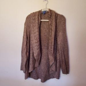 Karen Scott sweater cardigan XL